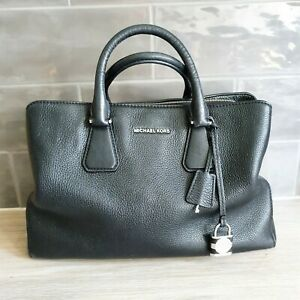 Michael Kors Camille Large Leather Tote Black