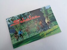 Schwinn 1972 Original Bicycle Sales Catalog~Brochure~Bikes-Paramount-Stingray 72