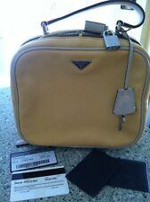 Prada BN0146 Vitello Box Sole Lino Borsa A Mano Adorable And Rare To Find
