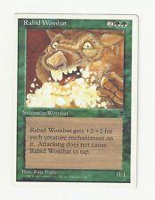Mtg Rabid Wombat x1 Chronicles Miscut Misprint Square Corner Ex/Nm