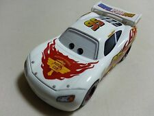Mattel Disney Pixar Cars White Lightning McQueen Diecast Toy Car 1:55 Loose New