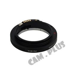 EMF AF Confirm Macro FD Lens To Canon EOS EF Adapter