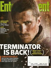 Christian Bale Entertainment Weekly May 2009 Terminator Salvation Lost Finale