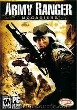 ARMY RANGER MOGADISHU Groove Shooter PC Windows Combat Game Sealed in NEW BOX