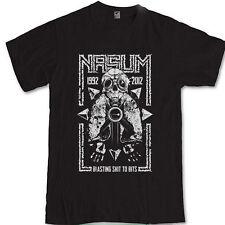 Nasum Blasting ShitTo Bits S M L XL 2XL 3XL t-shirt grindcore band tee