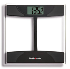 Health O Meter Digital Weight Tracking Scale with Tempered Glass Platform