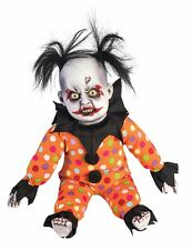 Halloween Evil Clown Doll Prop Creepy Circus Decoration 79021