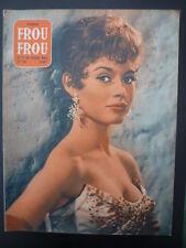 Magazine PARIS FROU*FROU 1955 n° 38 - Cv. Brigitte BARDOT - 4ème Cv.V. STEVENSON