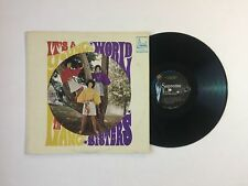 THE LANG SISTERS It's A Young World LP Supreme S-224 US VG 00G/I