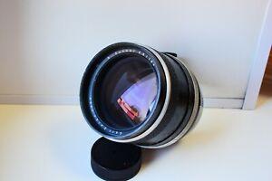 RARE CARL ZEISS JENA Sonnar 2.8/180 mm Medium format Pentacon SIX mount