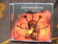"2 CD CORVUS CORAX  ""Live In Berlin""   Pica Music – PM0709-28  (2009)"