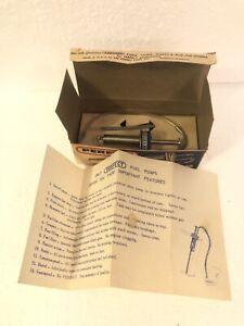 Vtg Radio Control RC Fuel Pump Perfect Complete In Box