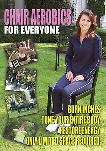 Low Impact Workout Completely Seated Chair Aerobics DVD *New Unopened*