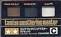 Tamiya Weathering Master - Rust/Gun metal/silver # 87085
