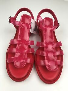 NWT Adidas Originals x Opening Ceremony Rubber Sandals US8 EU 41 1/3 Neon Pink