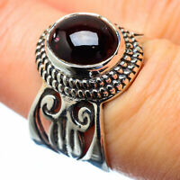 Garnet 925 Sterling Silver Ring Size 7.25 Ana Co Jewelry R27148F