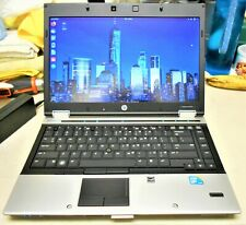"HP ELITEBOOK 8440p 14"" i5-520M 2.40GHz 4GB 80GB SSD **USED-UBUNTU** (LC7)"