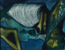 Christian CHENARD (1918-2002) Huile sur toile 1975