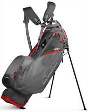 Sun Mountain 2.5+ 14-Way Golf Stand Bag Gray/Gunmetal/Red 2020 New