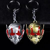 Marvel Avengers Ant-Man Mask Alloy Key Chains Keychain Keyfob Keyring Gift