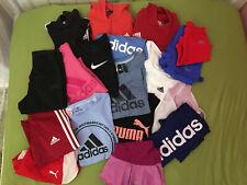 Mädchen Sport Paket 152 - 164 Adidas Nike Puma etc. 18 Teile inkl. Tennisrock