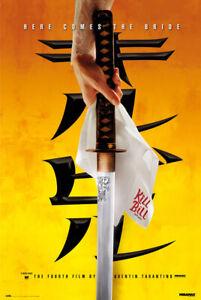 """Kill Bill Vol. 1 - Movie Poster (Teaser - Hattori Hanzo Katana) (Size: 24 X 36"""")"""