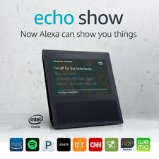 "Amazon Echo Show with Alexa Voice Control with 7"" Touchscreen, WiFi & Bluetooth"