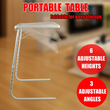 Foldable Table Portable Adjustable Tray Laptop Home Bed Office Desk TV Dinner AU