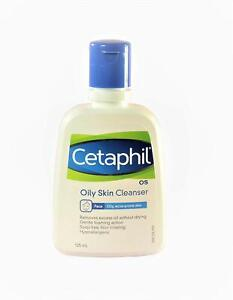 Cetaphil Oily Skin Cleanser, 125ml -Replenishes skin lipids & moisturises skin