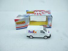 1/64 Diecast Edocar   FORD TRANSIT FRED EX VAN BUS   NEW OVP