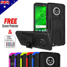Tough Heavy Duty Shockproof Case Cover For Motorola Moto G6 G6 Plus G6 Play & E5
