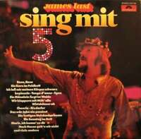 James Last Sing Mit 5 LP Album Vinyl Schallplatte 124636