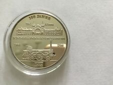 100 Jahre Bundesbahndirektion Hamburg 1984 1000 Silber