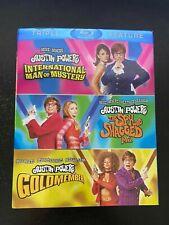Austin Powers Triple Feature Blu Ray Best Movie Series! Unopened!