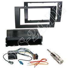 Seat exeo autoradio radio diafragma + archivador negro ISO cable del adaptador kit completo