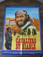 AFFICHE CINEMA (60x80) LES CAVALIERS DU DIABLE Lee Van Cleef  (G74)