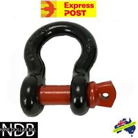 Bow Shackle 4.75T 4x4 4WD Recovery Rigging Tow D-Ring New EXPRESS & WARRANTY