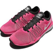 on sale 7b632 17788 Femmes NIKE Dual Fusion TR Hit Imprimé UK 4.5 EUR 38 rose blanc noir  844674600
