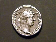 Hadrian AR Denarius / Africa / ca. 136 A.D. - Rare !