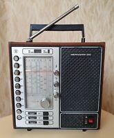 Meridian 210 Portable Radio LW, MW, 5 SW USSR Receiver 1977y Working
