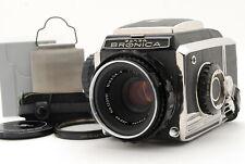 [EXC+++++] Zenza Bronica S2 Medium Format w/ Nikkor-P 75mm f/2.8 Lens From Japan