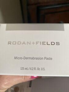 BRAND NEW RODAN + FIELDS MICRO-DERMABRASION PASTE 4.2 FL OZ/125 ML