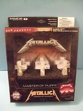 METALLICA Masters of Pupper 3D ALBUM COVER Pop Culture by Mcfarlane Toys New