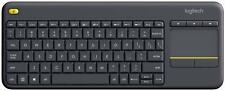 Logitech Plus Wireless Livingroom Keyboard with Touchpad FREE UK P&P