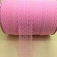 Wholesale 10 Yard Bilateral Handicrafts Embroidered Lace Trim Ribbon Bridal #UK