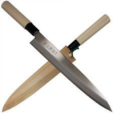 Herbertz  jap. Kochmesser Küchenmesser Klinge 23,5 cm Holzgriff und Holzscheide
