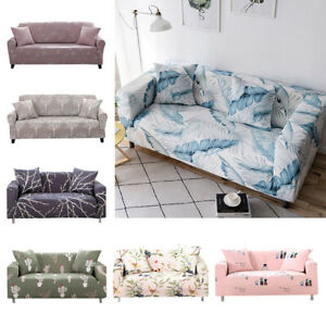 Slipcovers Sofa Cover Slip-resistant Sectional Elastic Full Couch Armchair Cover