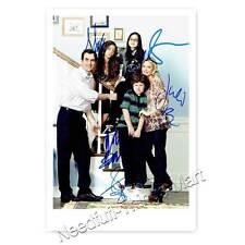 Modern Family-Ty Burrell, J. Bowen, A. inverno, N. Gould, S. Hyland AUTOGRAFO
