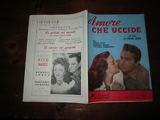 I CINEROMANZI DEI GRANDI AMORI N°1 AGO 1954 AMORE CHE UCCIDE (CORONA NEGRA)