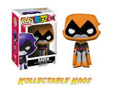 Teen Titans Go Raven Orange Pop Vinyl Figure Funko 108